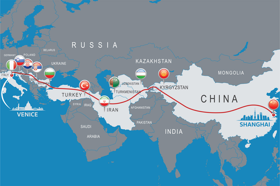 New China Silk Road, Turkey is the gateway to Europe.